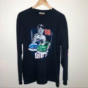 Vintage 90's Dale Earnhardt Jr. Long Sleeve Shirt